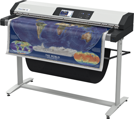 Fastest color scanning 150dpi: 15 inches per second (22.9 m/min)